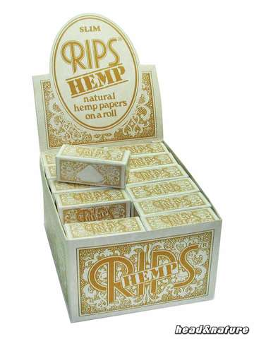 Rips Rolls hemp regular - 24 x
